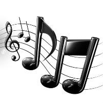 music-notes -swirl -staff