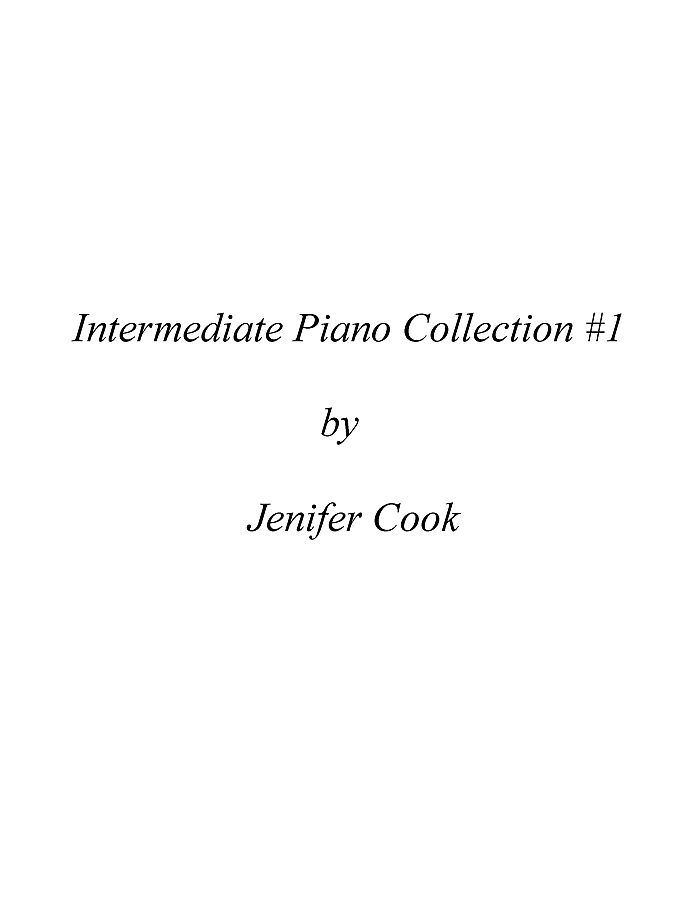 Intermediate Piano Solo Collection #1