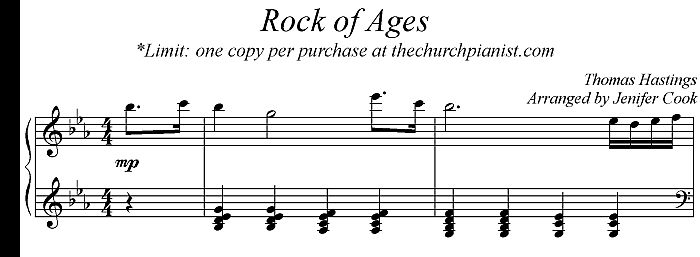 The Church Pianist Blog Archive Church Pianist Tip Rock Of Ages