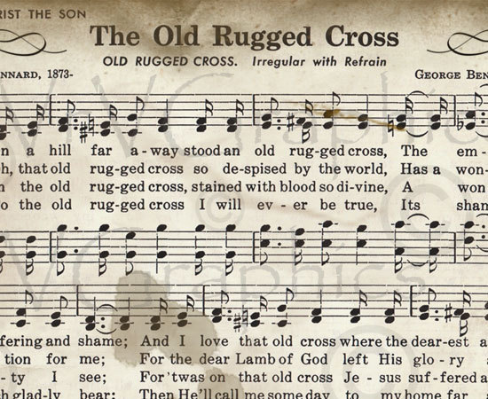 photo relating to Old Rugged Cross Printable Sheet Music named The Church Pianist » the outdated rugged cross