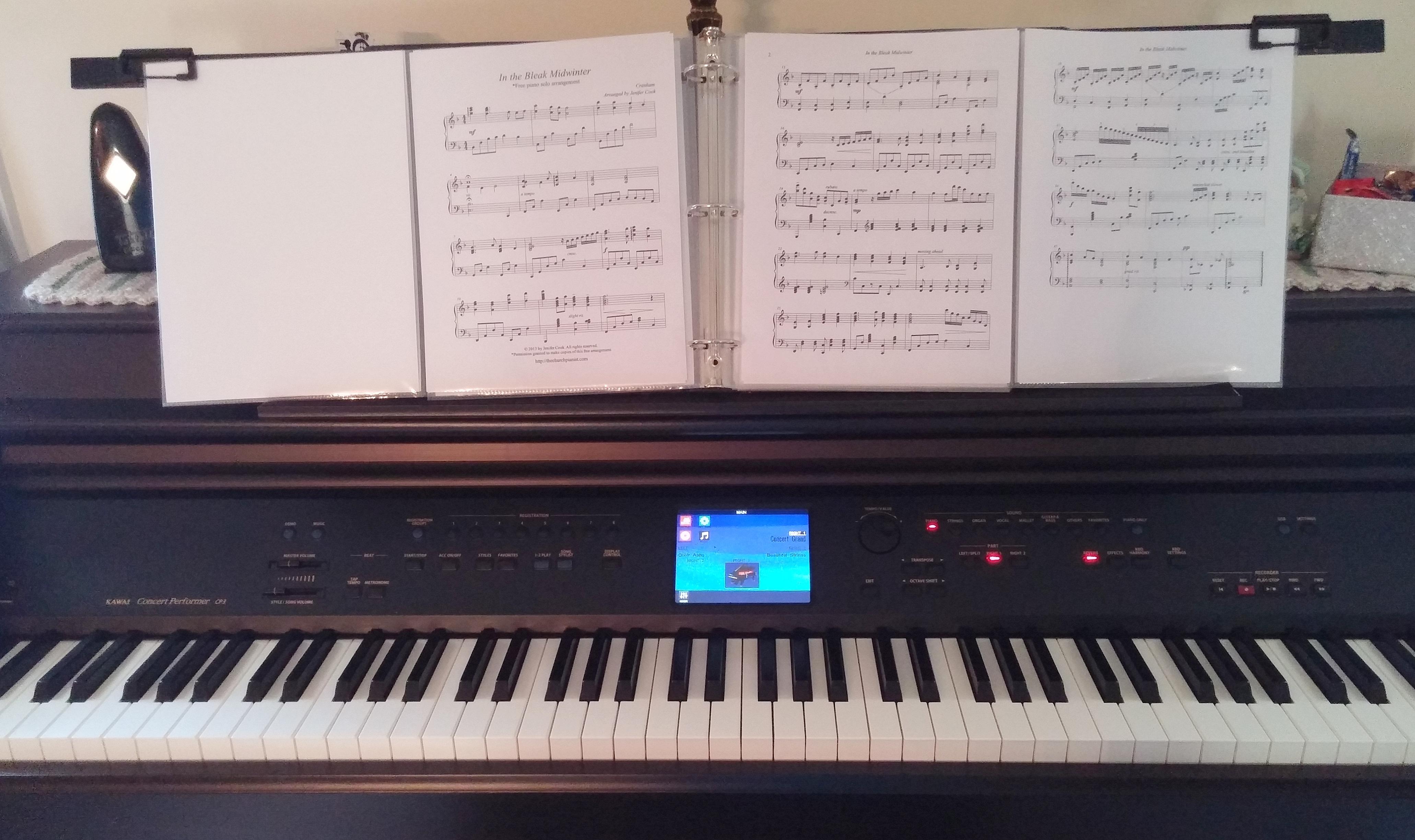 The Church Pianist » jenifer cook