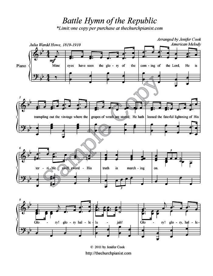 Piano o holy night advanced piano sheet music : The Church Pianist » Intermediate Piano Solos